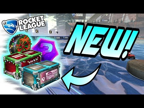 Rocket League Update: NEW CRATES LEAKED! + Items Inside - Update Crate/Christmas Crate (Opening)