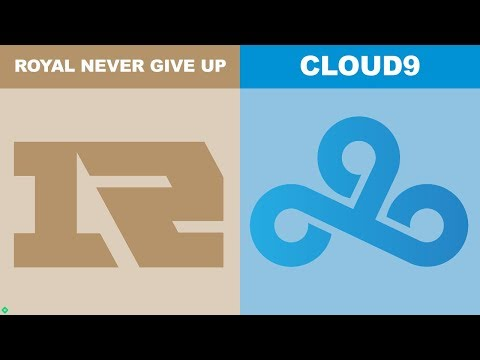RNG vs C9 - Worlds 2018 Group Stage Day 5 - Royal Never Give Up vs Cloud9