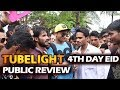 Tubelight Public Review Outside Salman s Galaxy Apartment EID 4th Day