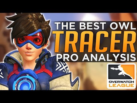 The BEST Tracer in Overwatch League - Pro Analysis