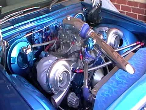 HQ Monaro 383 SBC Twin Garrett GT42 's turbo s