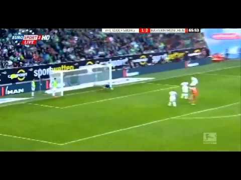 VfL Wolfsburg - Bayern Monachium 1:6 08/03/2014