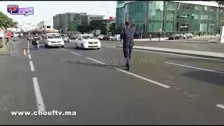 بالفيديو..شوفو البوليس كايقلبو الطوبيسات قبل مباراة المغرب و الغابون |