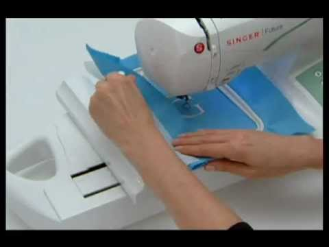 singer futura embroidery machine tutorial