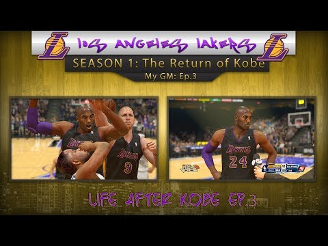 NBA 2k14 PS4 MyGM Los Angeles Lakers • Kobe Returns • Scouting Andrew Wiggins • Life After Kobe Ep.3