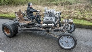 Dude Builds Steampunk Inspired Car