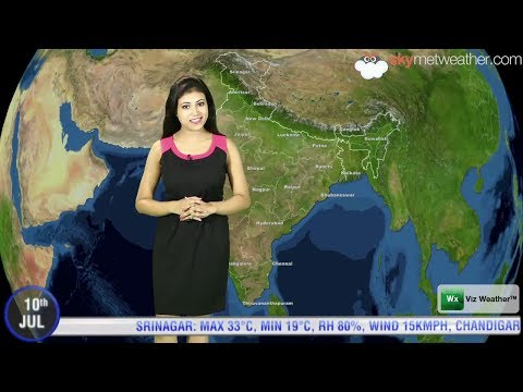 10/07/14   Skymet Weather Report For India