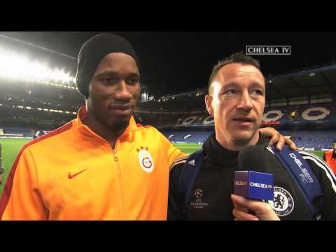 Reaction: Drogba and Terry on Galatasaray
