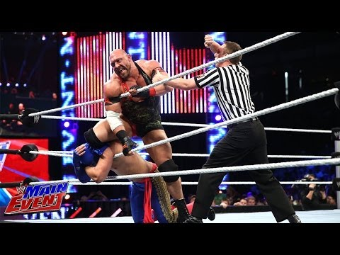 Los Matadores vs. Ryback and Curtis Axel: WWE Main Event, March 11, 2014