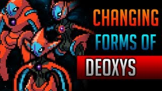 How & Where To Catch/get Change Deoxys's Forms In