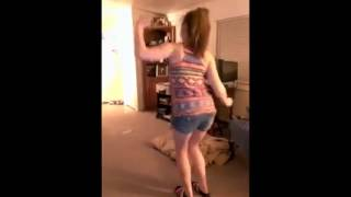 "White Girl ""Dancing"" To Sage The Gemini Gas Pedal"