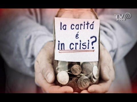 La carità è in crisi?