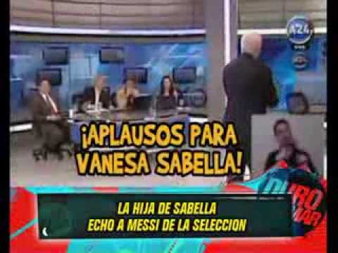 LA HIJA DE SABELLA VS MESSI - 12-09-13