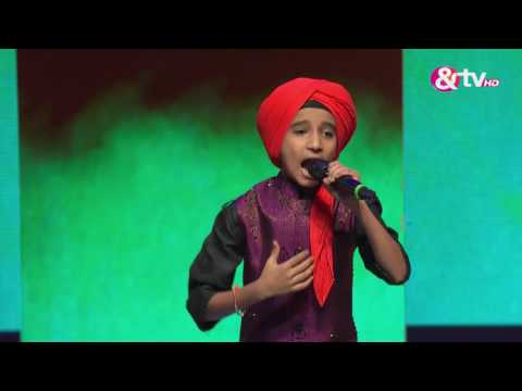 Vishwaprasad Ganagi - Performance - Episode 27 - October 22, 2016 - The Voice India Kids