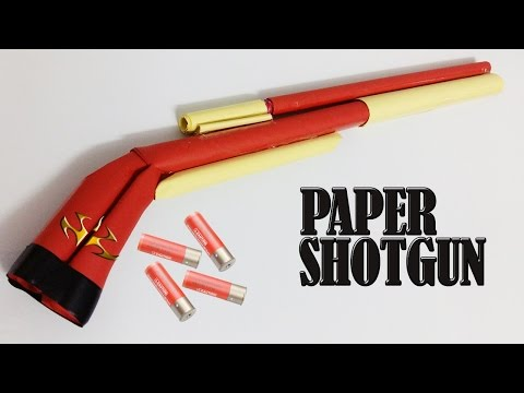 how to make a paper shotgun easy