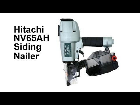 2 1 2 Inch Coil Siding Nailer Hitachi Nv65ah Phim Video Clip