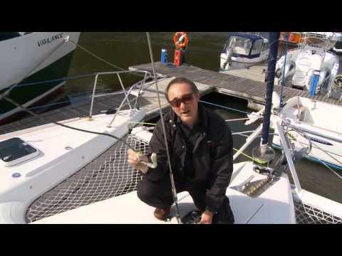 Majica - A tour of a cruising catamaran