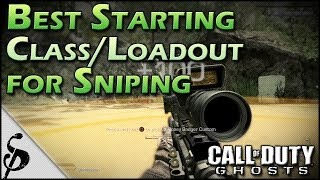 Ghosts Best Starting Class/Loadout For Snipers