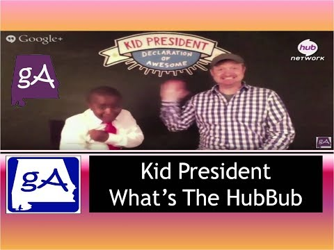 Hub Network's Kid President What's The HubBub?