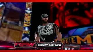 """Macho Man"" Randy Savage (nWo) WWE 2K14 Entrance And"