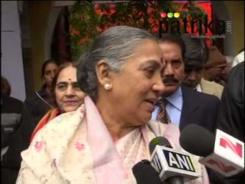 Rajasthan Governor Margaret Alva at JLF | Jaipur