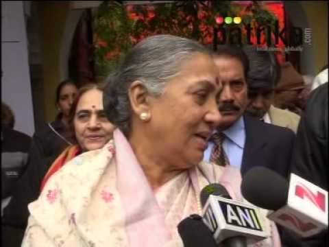 Rajasthan Governor Margaret Alva at JLF | Jaipur