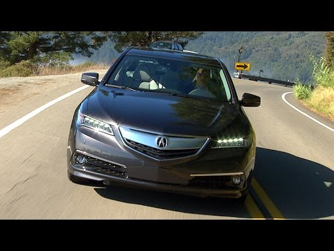 CNET On Cars - On the road: 2015 Acura TLX V6 Advance