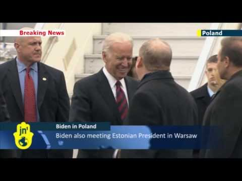 Putin's Crimean Invasion: US VP Joe Biden in Poland to show support for NATO ally