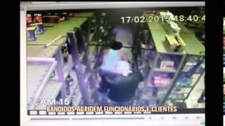 Bandidos agridem funcion�rios e clientes de uma leiteria em Boa Esperan�a
