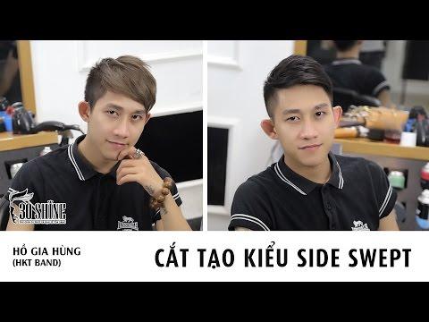 Cắt tạo kiểu Side Swept | Hồ Gia Hùng - HKT Band