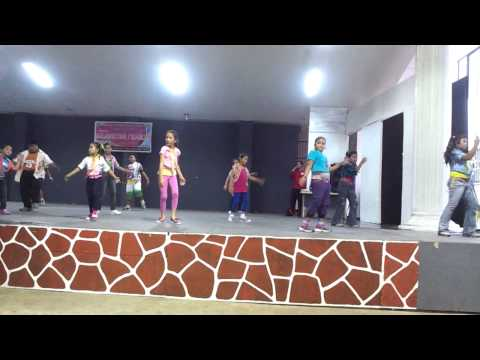 Culminating program selected zumba kids