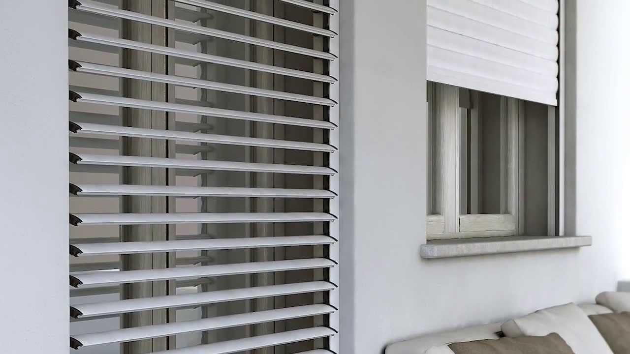 Pi che una tapparella orientabile una persiana for Finestre pvc con tapparelle