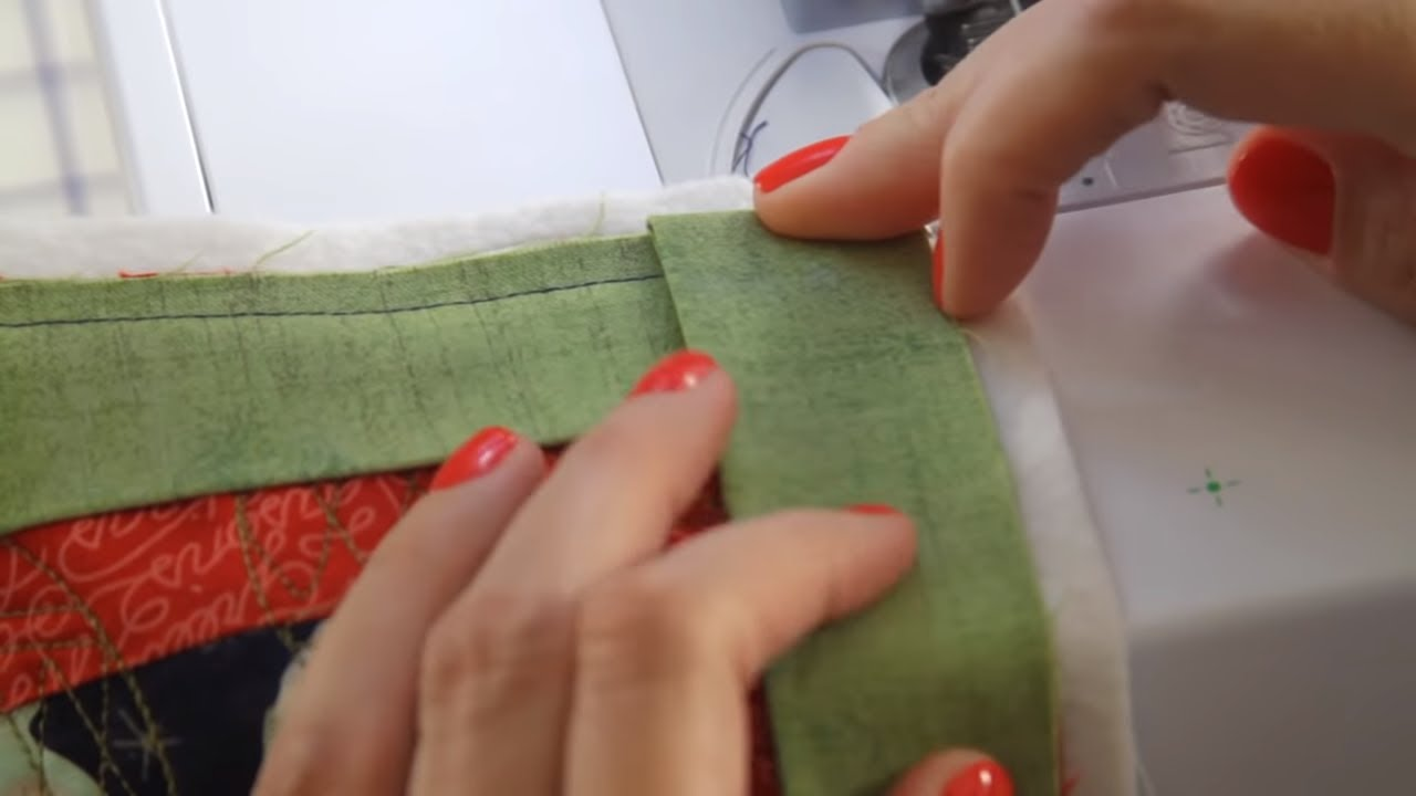 How To Machine Bind Your Quilts Fat Quarter Shop Youtube
