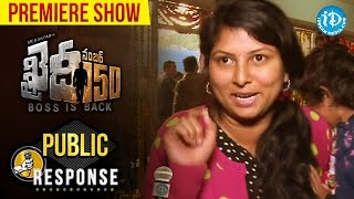 Chiranjeevi Khaidi No 150 Review, Public Talk