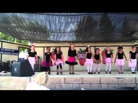 Kalies sm strawberry festival tap performance