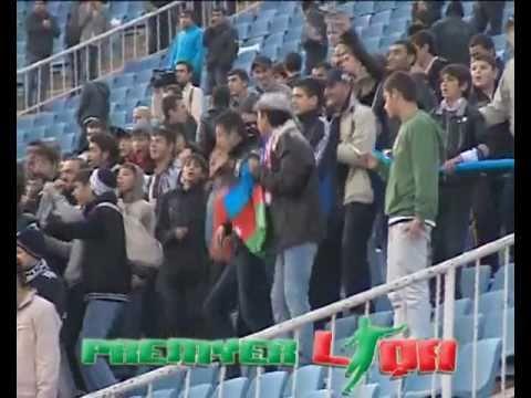 Battle of Azerbaijani Fans: Karabakh fans vs Ultra Neftchi