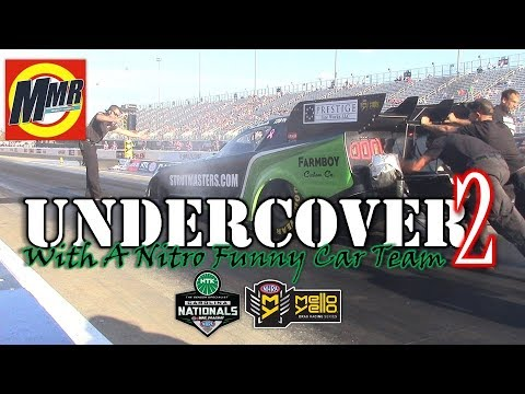 NHRA NITRO FUNNY CAR Undercover Look | Carolina Nationals at zMAX Dragway - Paul Richards Racing