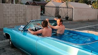 Hot Tub Cadillac: Friends Hope To Set World Record For