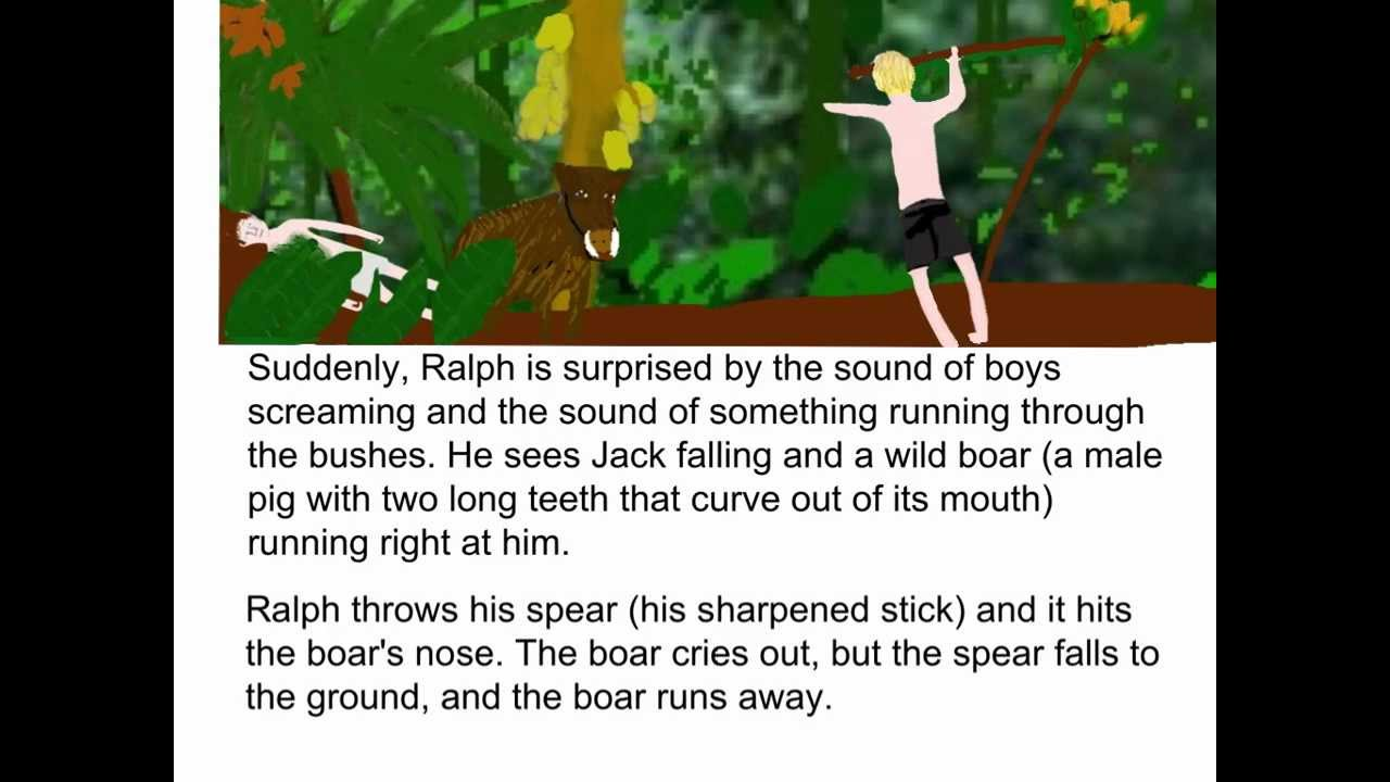 chapter 1 6 summary of the lord Chapters 3-6 summary thus far in the lord of the flies, a plane of boys crashed and now they are stuck on an island chapter 3 opens with jack hunting for pigs.