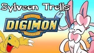 Sylveon Trolls Digimon