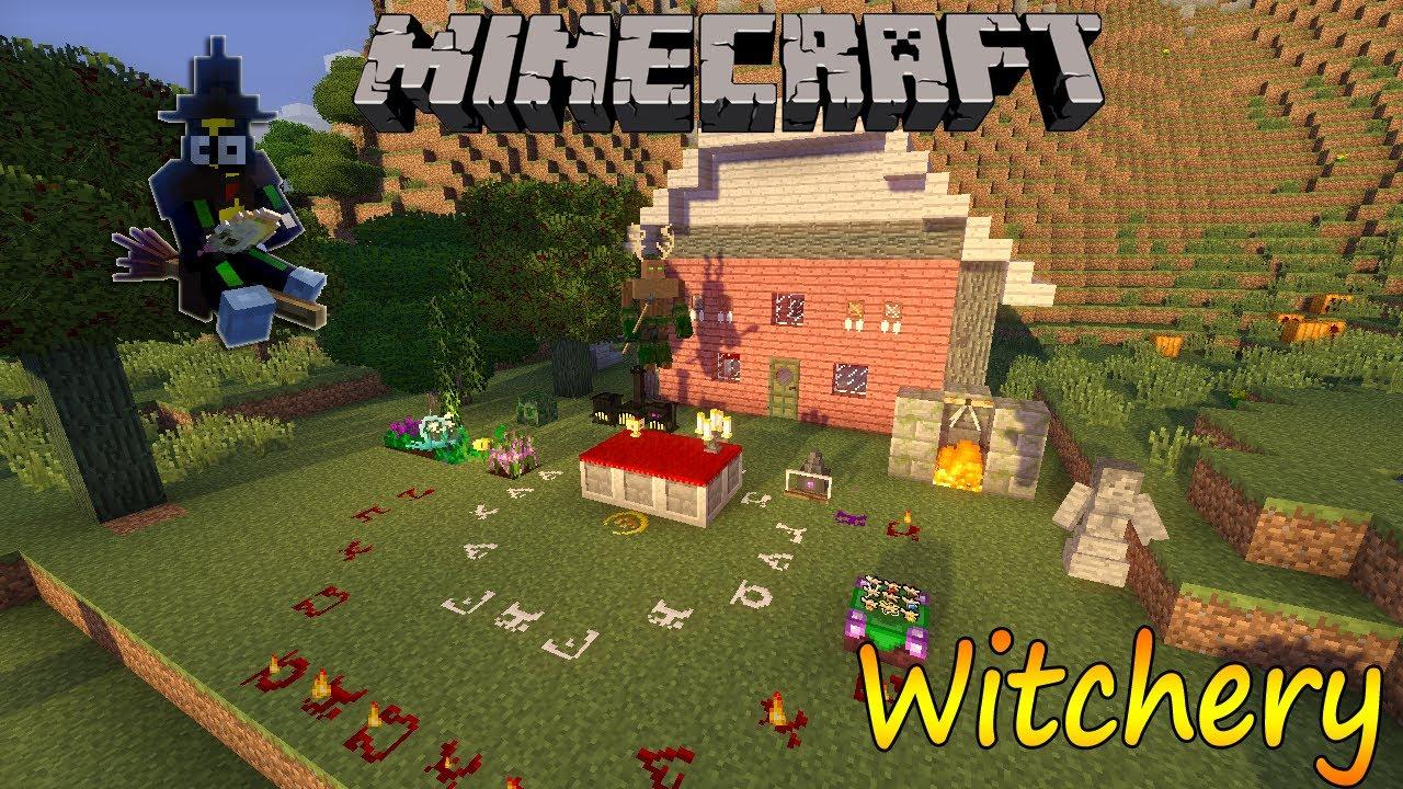 Minecraft witchery 1710 - 4