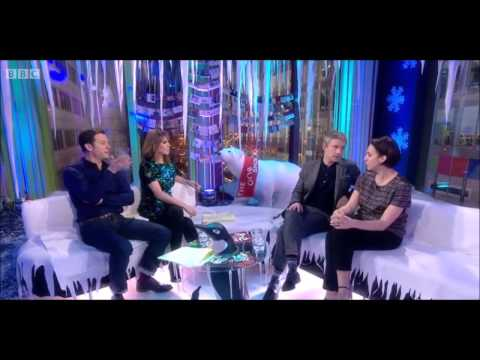 Martin Freeman and Amanda Abbington interview - The One Show - 19th December 2013