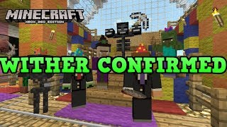 Minecraft Xbox 360 + PS3: WITHER CONFIRMED (TU17)