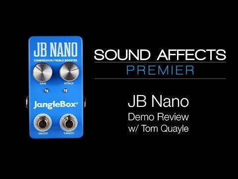Janglebox JB Nano Compressor / Treble Booster Guitar Effects Pedal