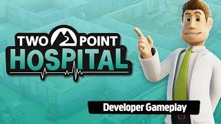 Two Point Hospital - Developer Gameplay
