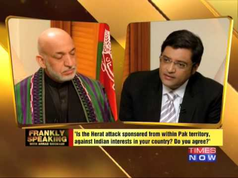 Frankly Speaking with Hamid Karzai - Part 1