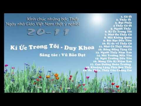 Album tặng thầy cô nhân ngày nhà giáo Việt Nam 20 11 2014 360p