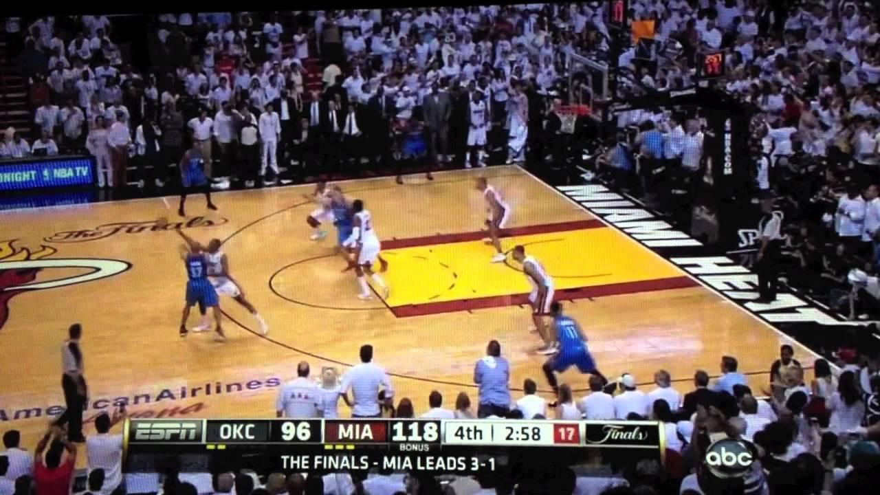 NBA Finals Game 5 Miami Heat vs. Thunder - Last Minutes ...