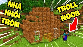 OopsMazk TROLL NOOB BẰNG BLOCK TRÒN TRONG MINECRAFT !!!! (OopsMazk Minecraft)
