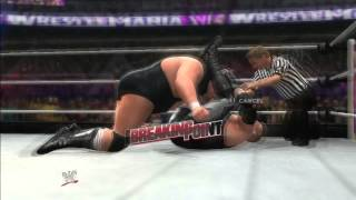 WWE 2K14: Undertaker Defend The Streak Match Part 1